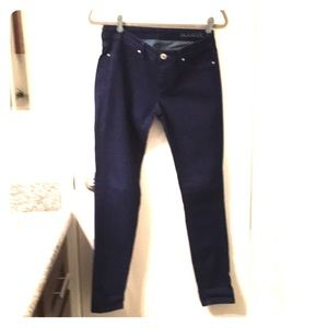 Skinny BLANK NYC jeans in royal blue-low rise